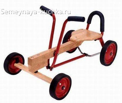 квадроцикл из дерева для игровой площадки детям