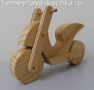 игрушки из дерева на площадку детям
