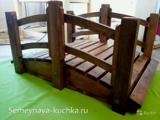 игровой мостик для детского комплекса на улице