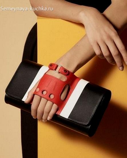 сумка клатч из кожи своими руками оригинальная