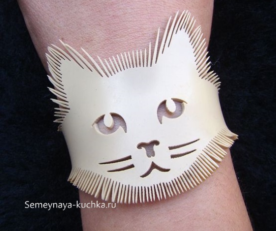 красивый браслет из натуральной кожи