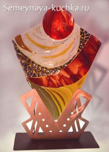 декоративное панно из стекла