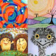 НОВОЕ рисование в детском саду (55 идей + важные техники).