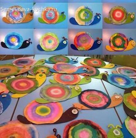рисование в детском саду круговая радуга