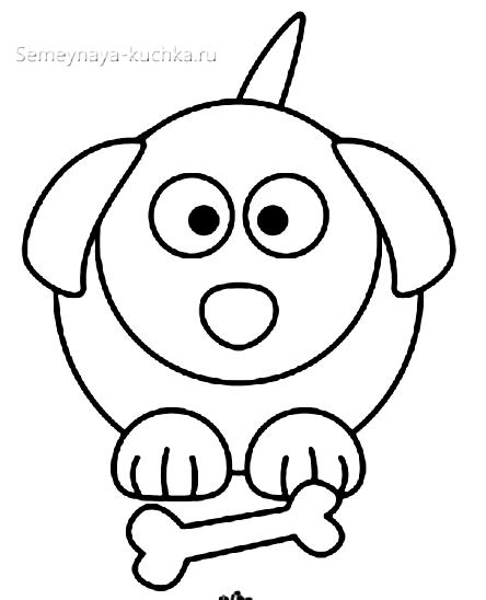 шалон собачка для малышей