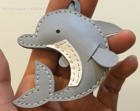 брелок дельфин сшить самим
