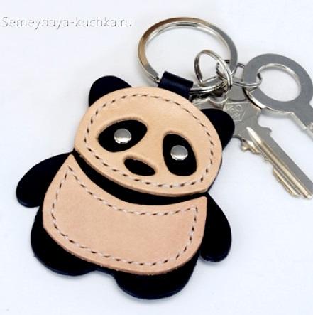 брелок панда своими руками