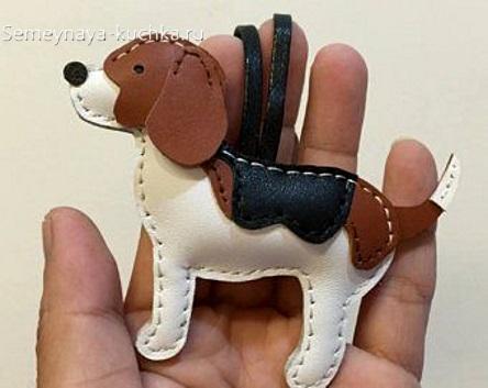 брелок собачка своими руками