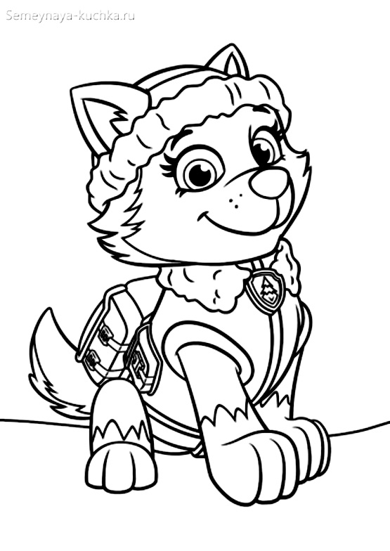 раскраски для мальчиков щенячий патруль