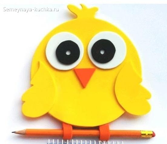 аппликация цыпленок шаблон для детей