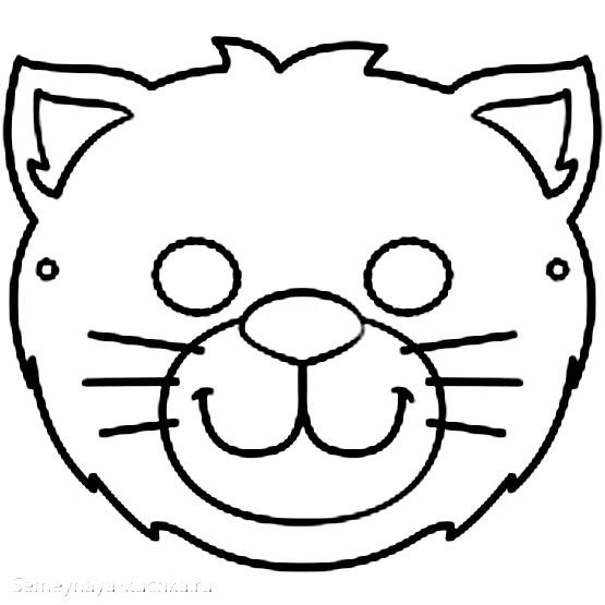 кот кошка шаблон для аппликации