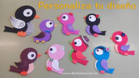 аппликация птички в детском саду по шаблону