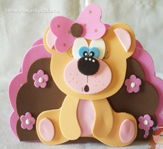 аппликация мишка медведь в детском саду