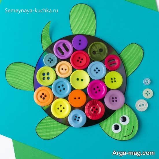 аппликация по шаблону черепаха старшая группа