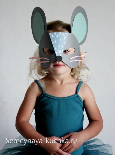 мышь маска своими руками