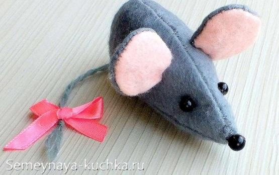 как сшить мышку простой способ