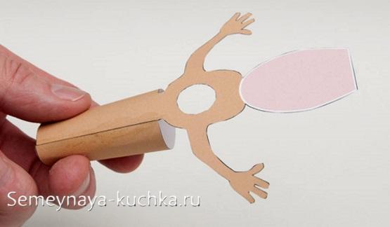 поделка мышь из бумаги своими руками