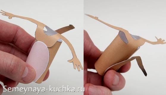 пошаговая поделка мышь из бумаги