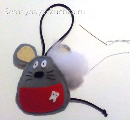 поделка мышка сшить самим