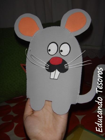 мышка из бумаги простые поделки для детей в садике