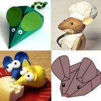мышка своими руками много способов