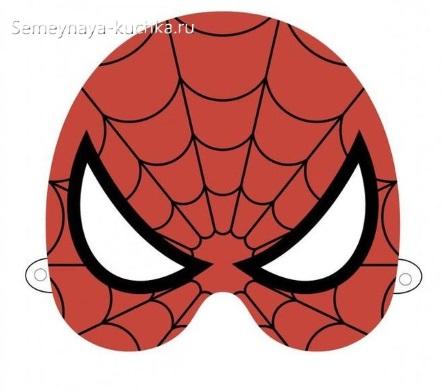 человек паук маска