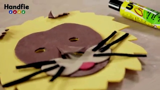 детская маска своими руками