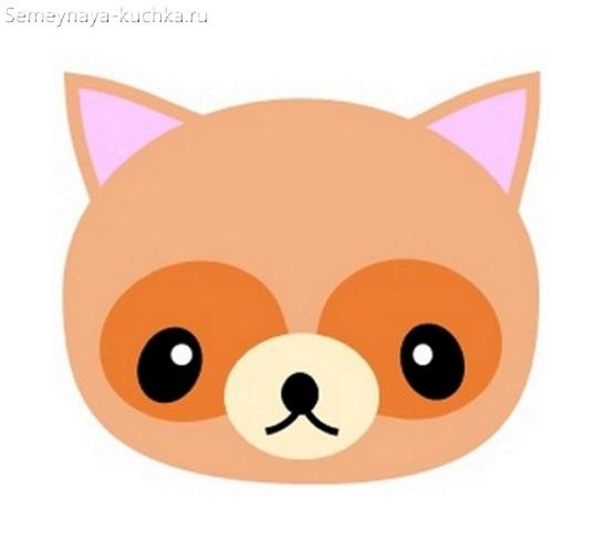 детская маска собачкасвоими руками