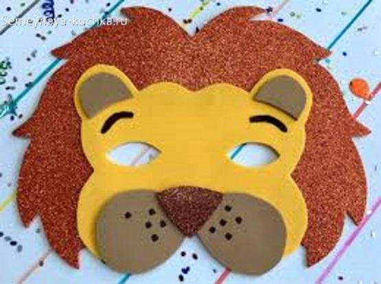 маска лев