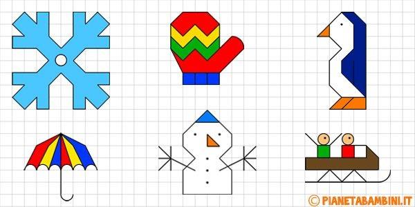 графический диктант новогодний