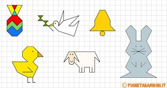 простые задания на графический диктант
