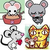 как нарисовать мышку картинку