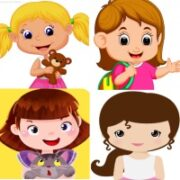 Картинки ДЕВОЧКА (77 изображений для детей).
