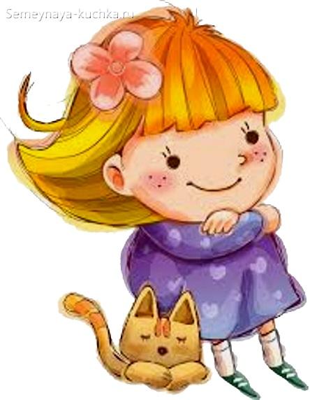 рисованная девочка картинка