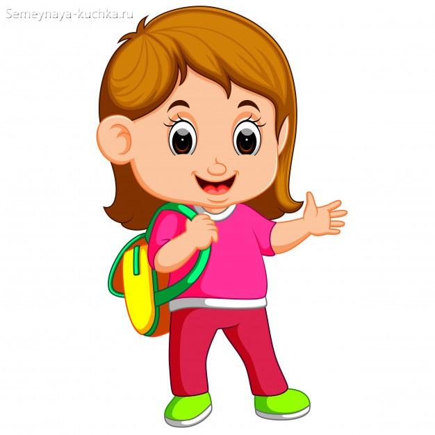 обычная девочка картинка