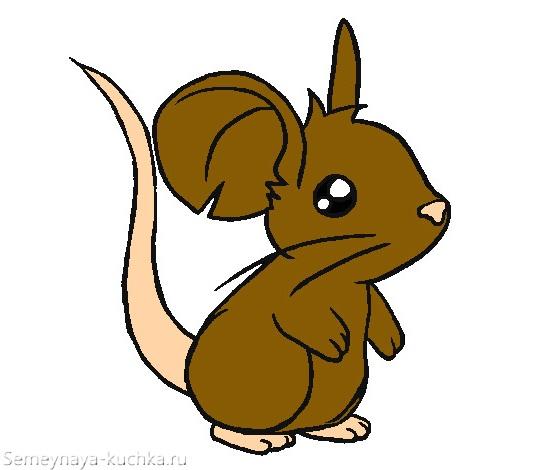 картинка мышь крысеныш