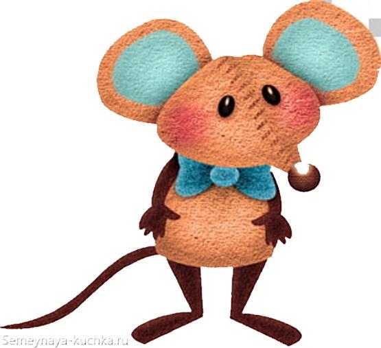 картинка милая мышь