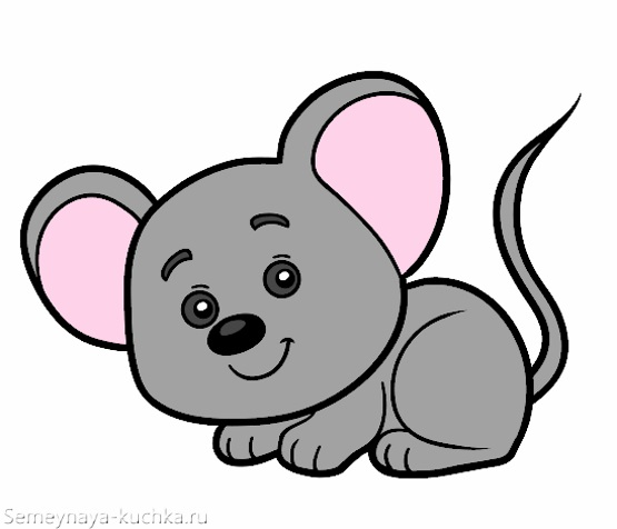 картинка маленькая мышка