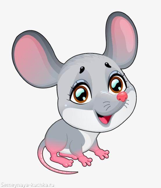 мышка с милыми глазами