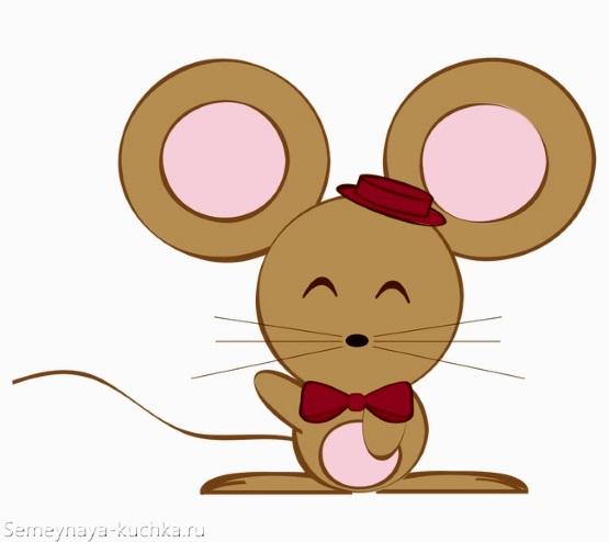 простая картинка мышки