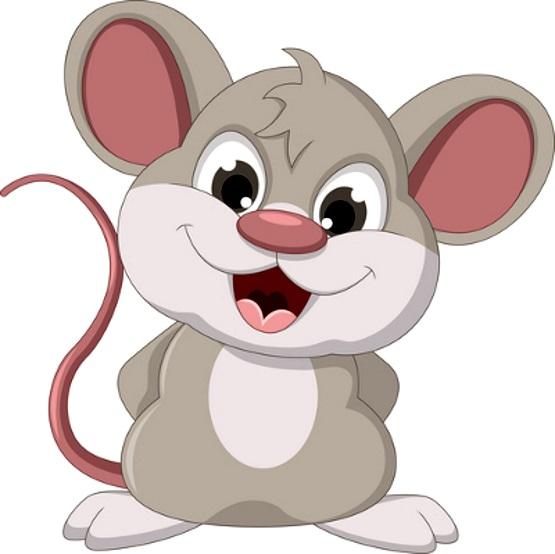 веселая мышка картинка