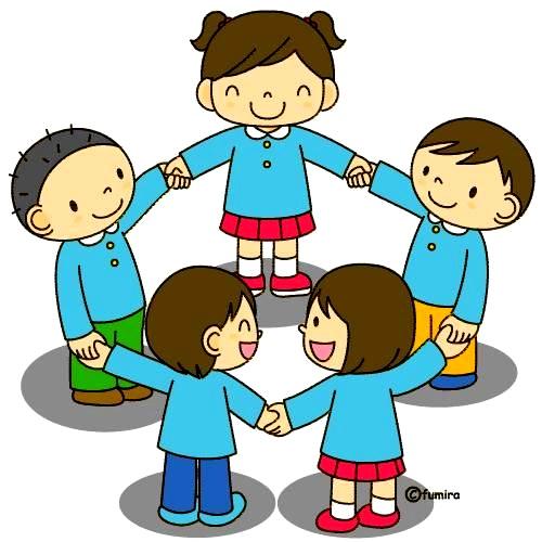 картинка дети в кругу хоровод