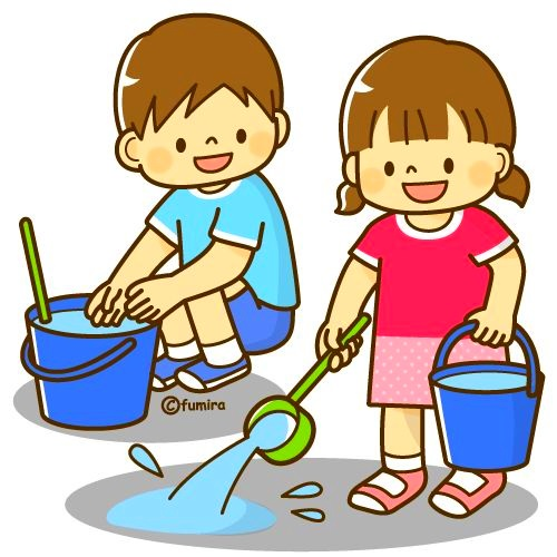 картинка дети играют с водой