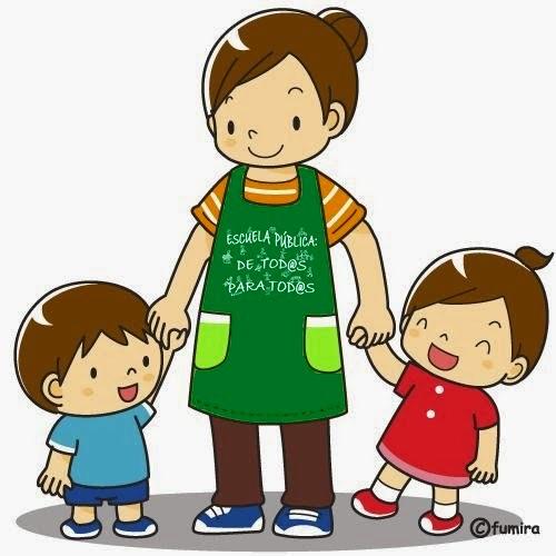 картинка мама держит детей за руку