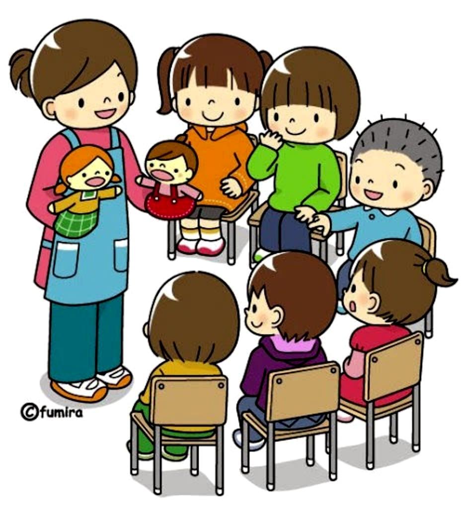 картинка дети на занятиях в детском саду