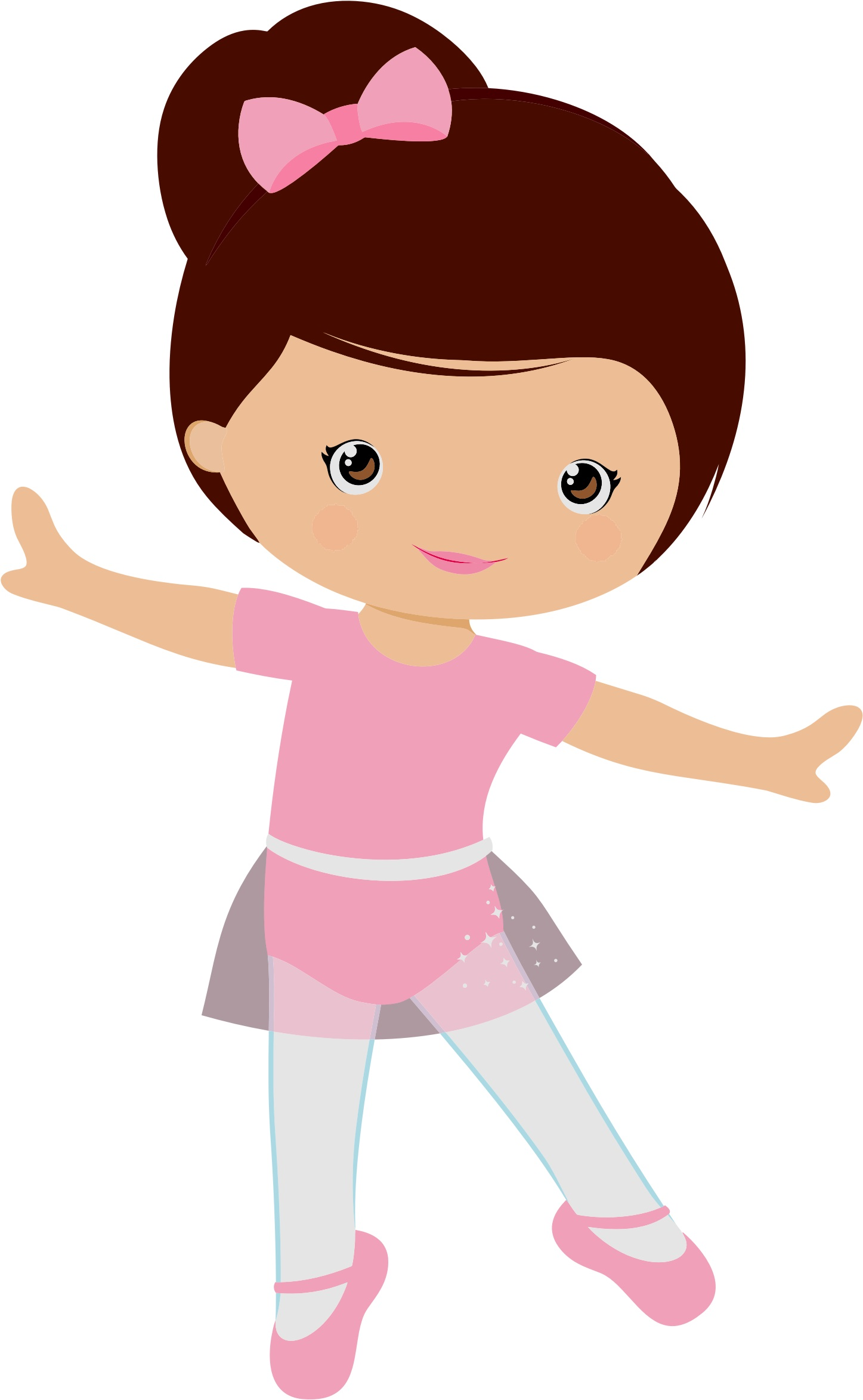 картинка девочка балерина