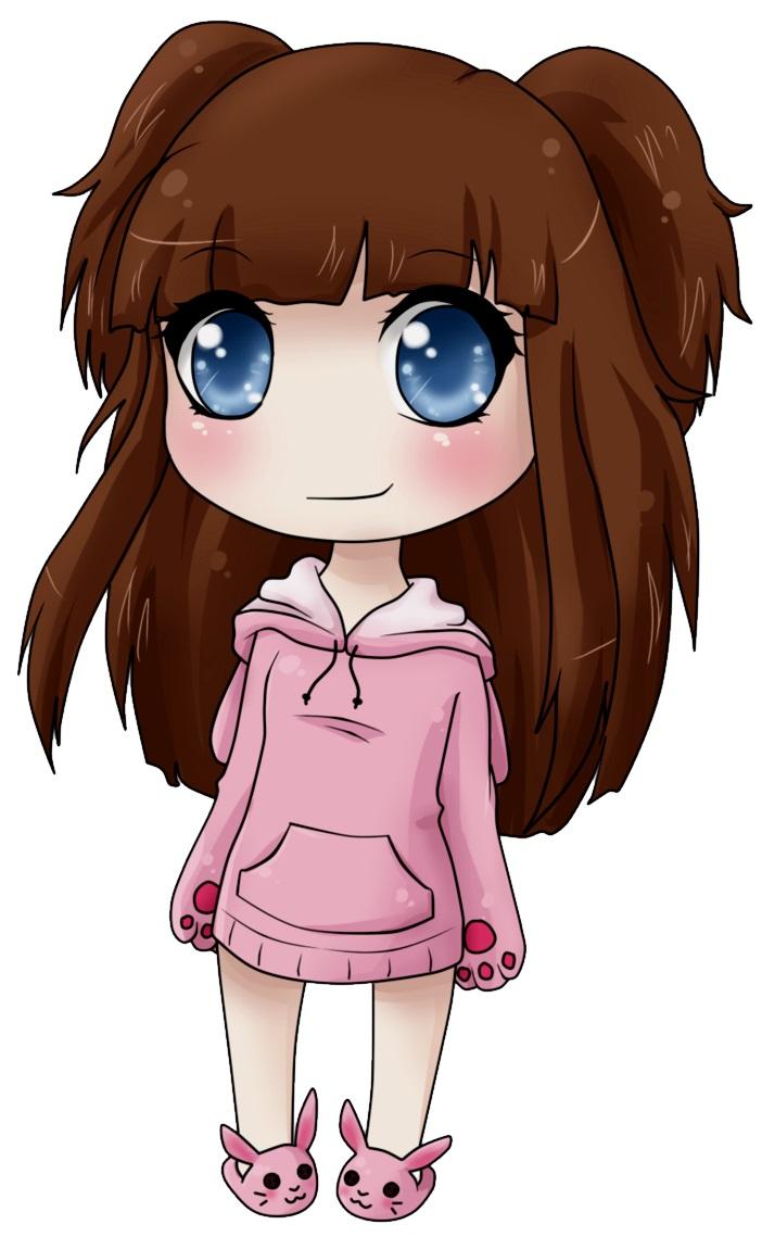 картинка девочка аниме
