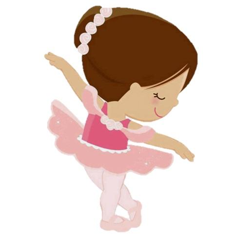 картинка девочка танцует как балерина