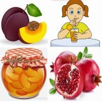 картинка фрукты детские