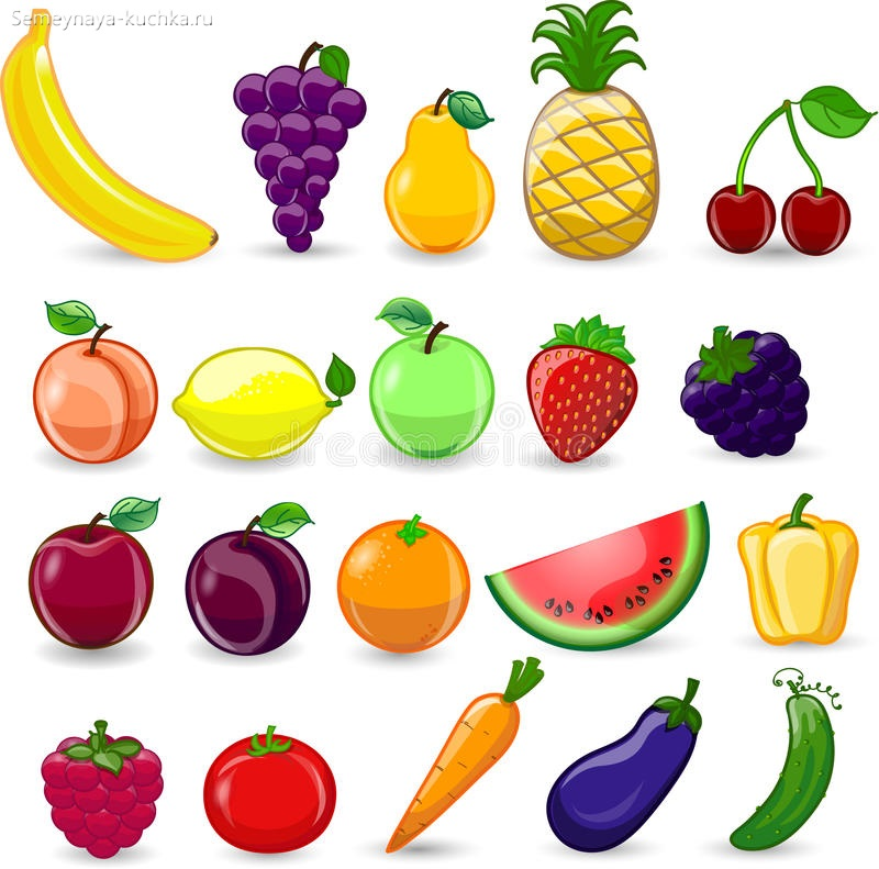 картинка фрукты
